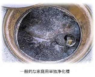 トリニティの働き 一般的な浄化槽